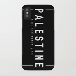 Palestine x Minimalist iPhone Case