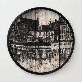 In Bruges, Belgium Wall Clock