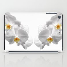white orchid II iPad Case