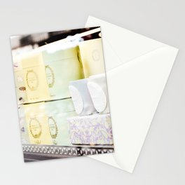 Window Display in Paris Stationery Cards