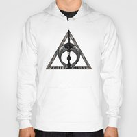 deathly hallows Hoodies featuring Master of Death by Talesanura
