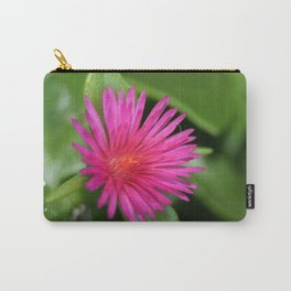 Pink Flower of Succulent Carpet Weed  Carry-All Pouch