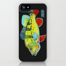 Peacock Bass iPhone Case