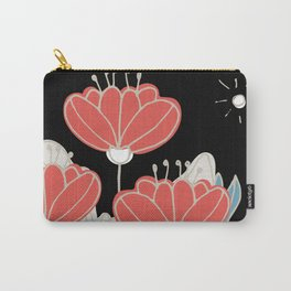 Poppy Garden At Night by SalsySafrano. Carry-All Pouch
