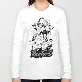 1995-2019 Raptors Long Sleeve T-shirt