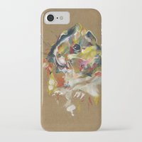 guinea pig iPhone & iPod Cases featuring Guinea pig I by Anaïs Chesnoy