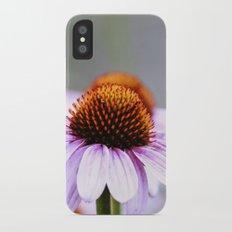 Pink Daisy iPhone X Slim Case