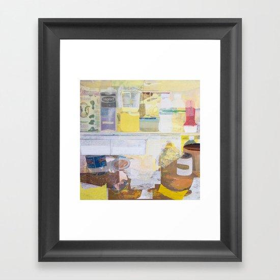 Starving Artist (J.K) Framed Art Print
