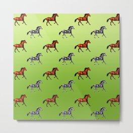 Horses, Metal Print