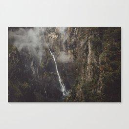 Voringfoss Canvas Print
