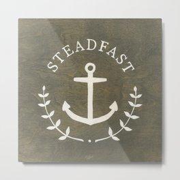 Steadfast Metal Print