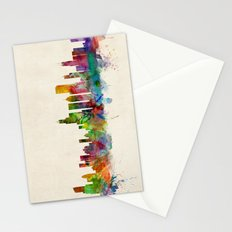 Chicago City Skyline Stationery Cards