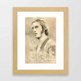 Johan Neeskens Framed Art Print
