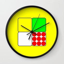 Tour de France Jerseys 3 Yellow Wall Clock