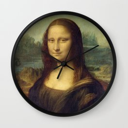 Leonardo da Vinci La Gioconda or The Mona Lisa Wall Clock