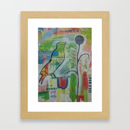 The Crow, the Messenger Framed Art Print