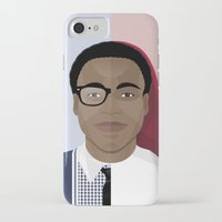 childish gambino iPhone & iPod Cases featuring Donald Glover x Childish Gambino by Mathieu Duparcq
