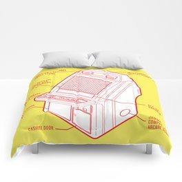 ARCADE CAB - NEW ASTRO CITY Comforters