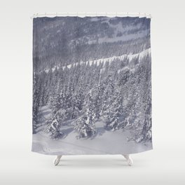 Winter day 27 Shower Curtain