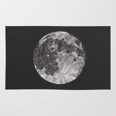 Abstract Full Moon Rug