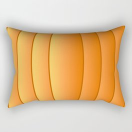 Bland Pumpkin Rectangular Pillow