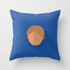 Luke Skywalker Minimalistic Poster Throw Pillow