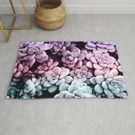 Dreamy Succulents #1 #pastel #decor #art #society6 Rug