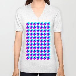 dots pop pattern Unisex V-Neck