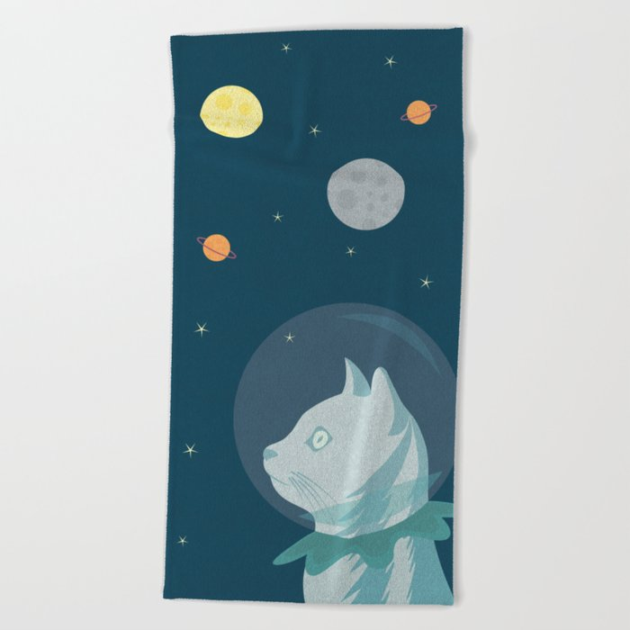 Dreaming about Space Beach Towel