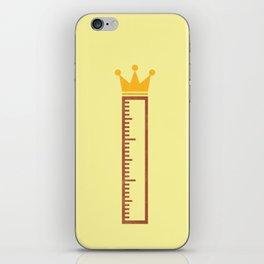 Ruler iPhone Skin