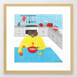 Be A Fruit Loop In A World Full Of Cheerios Framed Art Print