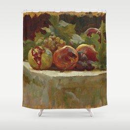 "Frederic Leighton ""Still Life Study for 'Clytie'"" Shower Curtain"