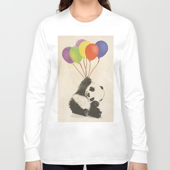 Fly Away Panda Long Sleeve T-shirt
