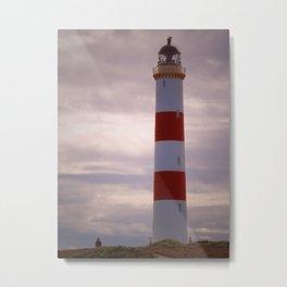 Tarbat Ness Lighthouse Metal Print