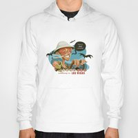 fear and loathing Hoodies featuring Fear and Loathing in Las Vegas by Danilo Fiocco