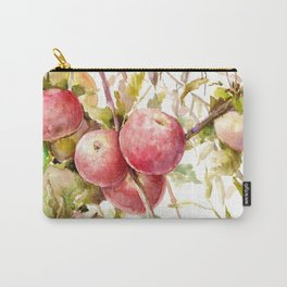 Apples on the Tree Carry-All Pouch