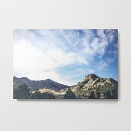 Colorado Mountains Metal Print