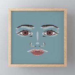 Portrait  Framed Mini Art Print