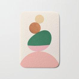 Abstraction_SHAPE_BALANCE_Minimalism_Art_01 Bath Mat