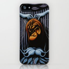 Comfort In The Unknown iPhone Case