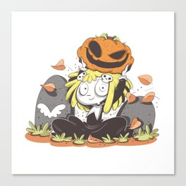 Lenore, the Cute Little Dead Girl Canvas Print
