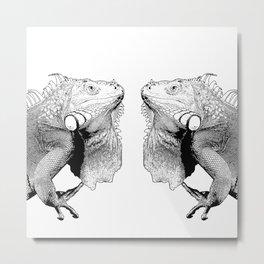 Iguanas (animals) Metal Print
