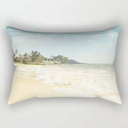 Polo Beach Maui Hawaii Rectangular Pillow