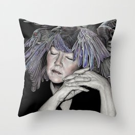 Do You Like My Hat Throw Pillow
