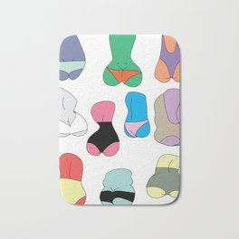 But butt Bath Mat