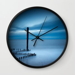 Sunrise at Caistor Wall Clock