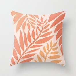 Wandering Vine Social Club / Desert Plants Throw Pillow