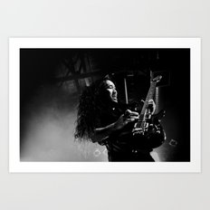 Dragonforce ANALOG zine Art Print
