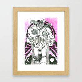 Hommage to Hindi Zahra Framed Art Print