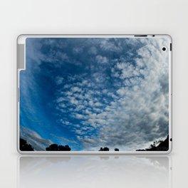 Fish-Eye Clouds Laptop & iPad Skin